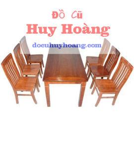 bàn ghế gỗ xoan ghế chữ thọ quán ăn