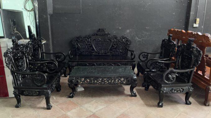 Thu mua bàn ghế gỗ trắc