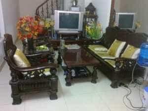 chuyên mua bàn ghế gỗ đồ gỗ cũ gia đình