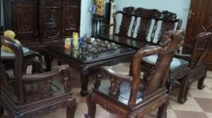 mua bàn ghế gỗ cũ hà nội