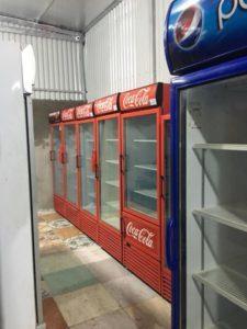 thanh lý tủ coca trong khu bếp