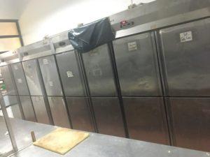 thanh lý tủ đông 4 cánh inox