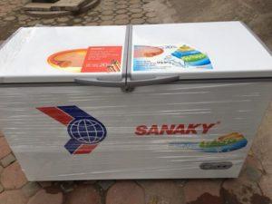 thanh lý tủ đông sanaky mới sử dụng