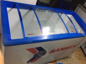 thanh lý tủ đông kính coong