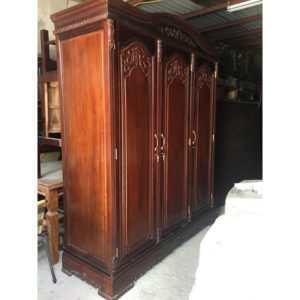 bán tủ quần áo gia đình gỗ gụ