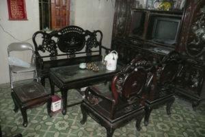 bộ bàn ghế gỗ trắc phòng khách