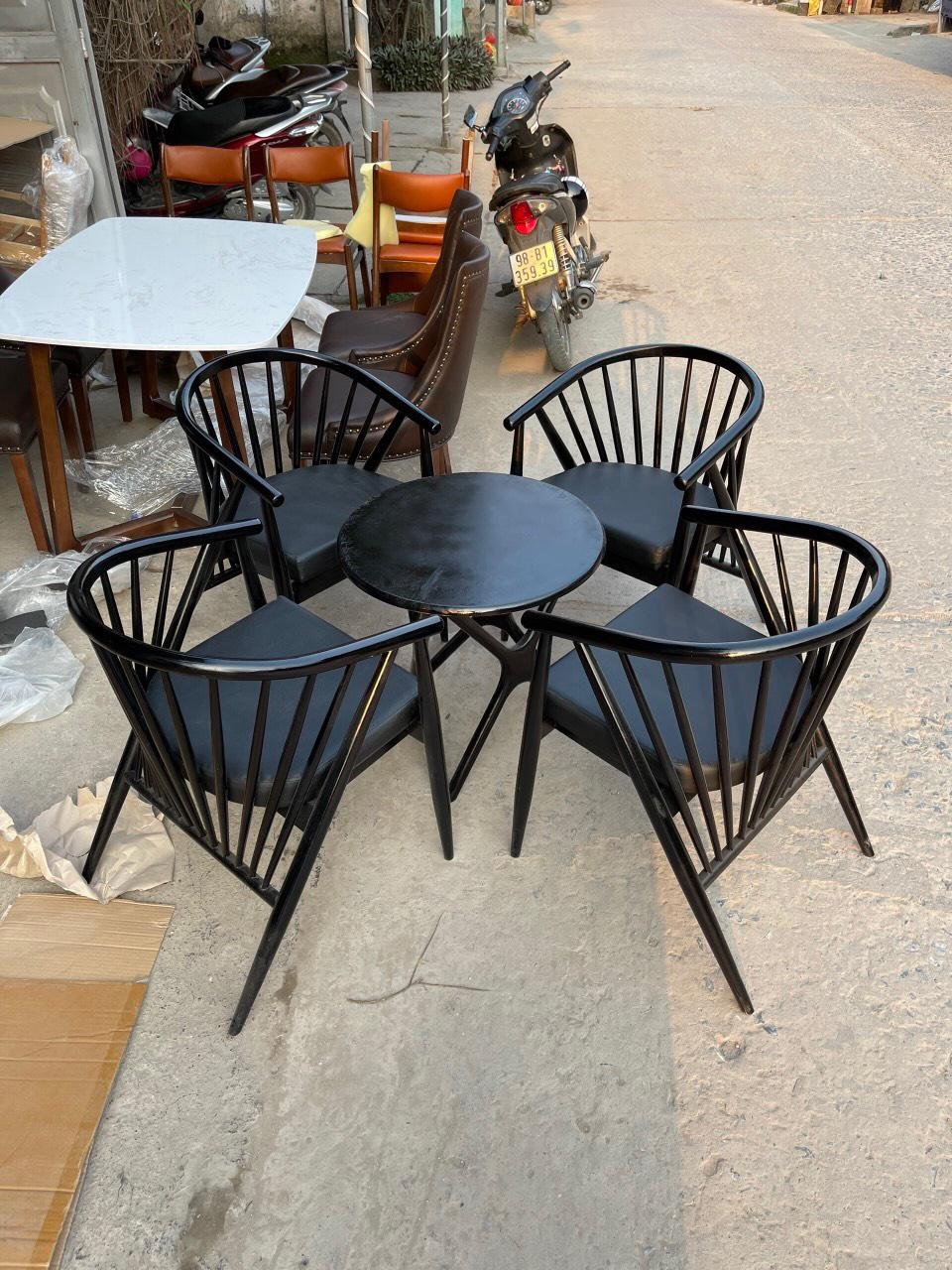thanh lý bàn ghế cũ cafe giá rẻ