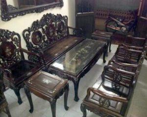 thanh lý nội thất bàn ghế gia đình cũ
