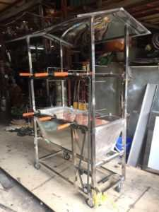 bán lò quay vịt cũ dùng than (