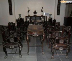 Cần bán bộ bàn ghế gỗ gụ cũ