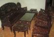bộ bàn ghế gỗ gụ cũ
