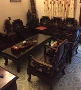 mua bàn ghế gỗ gụ cũ giá cao