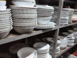 thanh lý bát đĩa nhà hàng