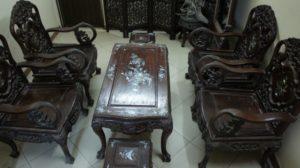 thu mua bàn ghế gỗ gụ cũ