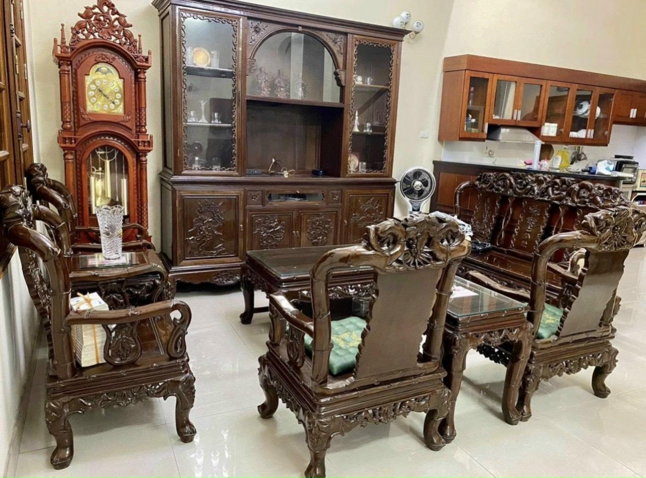 mua bàn ghế gỗ gụ cũ giá cao nhất