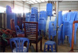 mua bàn ghế nhựa cũ