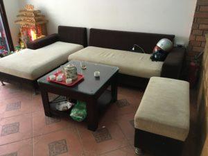 thanh lý sofa cũ gia đình