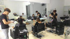 ghế cắt tóc nam