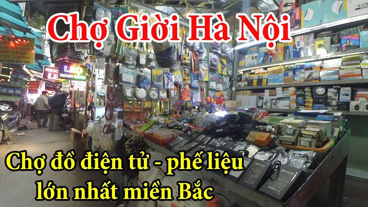 Chợ Giời Chuyên bán các linh kiện điện tử