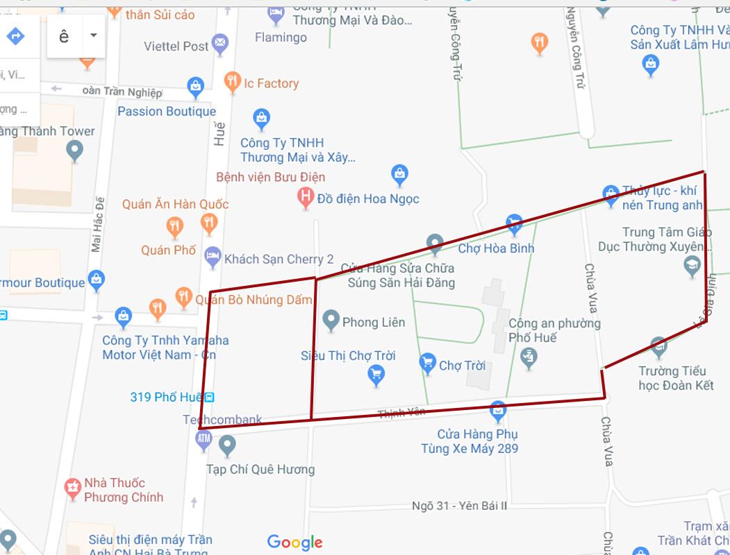 Địa chỉ Maps của Chợ Giời